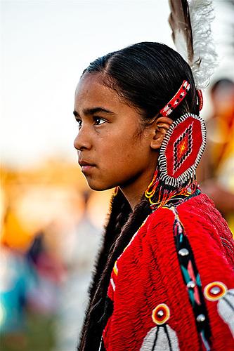 Beautiful teen native american indian women not