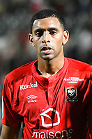 Ronny Rodelin of Caen during the Ligue 1 match between Angers Sco and SM Caen at Stade Jean Bouin on September 21, 2016 in Angers, France. (Photo by Philippe Le Brech/Icon Sport)