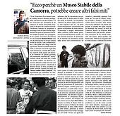 """20170213 INTERVISTA RENNA """" IL MUSEO DELLA CAMORRA E I FALSI MITI """""""