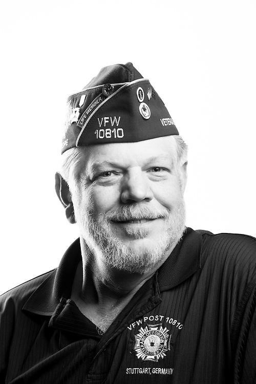 Robert J. Leffler<br /> Air Force<br /> E-7<br /> Security Police<br /> Communications<br /> June 1975 - July 1996<br /> Southwest Asia<br /> <br /> Veterans Portrait Project<br /> St. Louis, MO