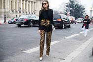 Giorgia Tordini at Chanel Couture SS2017