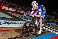 "GENT, BELGIUM, NOVEMBER 12: Iljo Keisse pictured during ""Ciao Fabian"". An event to honour Fabian Cancellara's carreer. In Kuipke, Gent, Belgium on Saturday, november 12 2016 *** © Gregory Van Gansen***"
