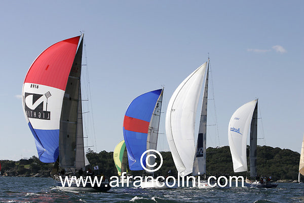 SAILING - BMW Winter Series 2005 - DE LIGHT - Sydney (AUS) - 29/05/05 - ph. Andrea Francolini