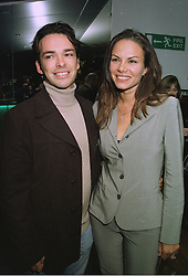MISS LILI MALTESE and her fiance MR HENRY DENT-BROCKLEHURST the millionaire owner of Sudely Castle, at a party in London on 23rd September 1997.MBL 24