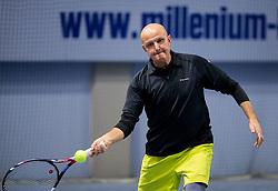 Saso Svoljsak, BTC Medot Bozicno novoletni rekreativni teniski turnir dvojic 2019, on January 12, 2019 in BTC Millenium centre, Ljubljana, Slovenia. Photo by Vid Ponikvar / Sportida