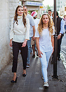 Princess Iman & Mum Queen Rania On Out & About Walk