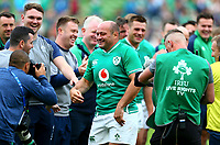 Rugby Union - 2019 pre-Rugby World Cup warm-up (Guinness Summer Series) - Ireland vs. Wales<br /> <br />  at The Aviva Stadium.<br /> <br /> COLORSPORT/KEN SUTTON