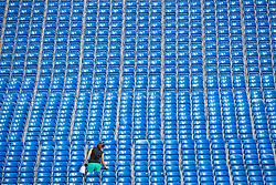 Hauptstadion Bestuhlung<br /> Tryon - FEI World Equestrian Games™ 2018<br /> Hintergrundbilder vom Veranstaltungsgelände<br /> 10.September 2018<br /> © www.sportfotos-lafrentz.de/Stefan Lafrentz