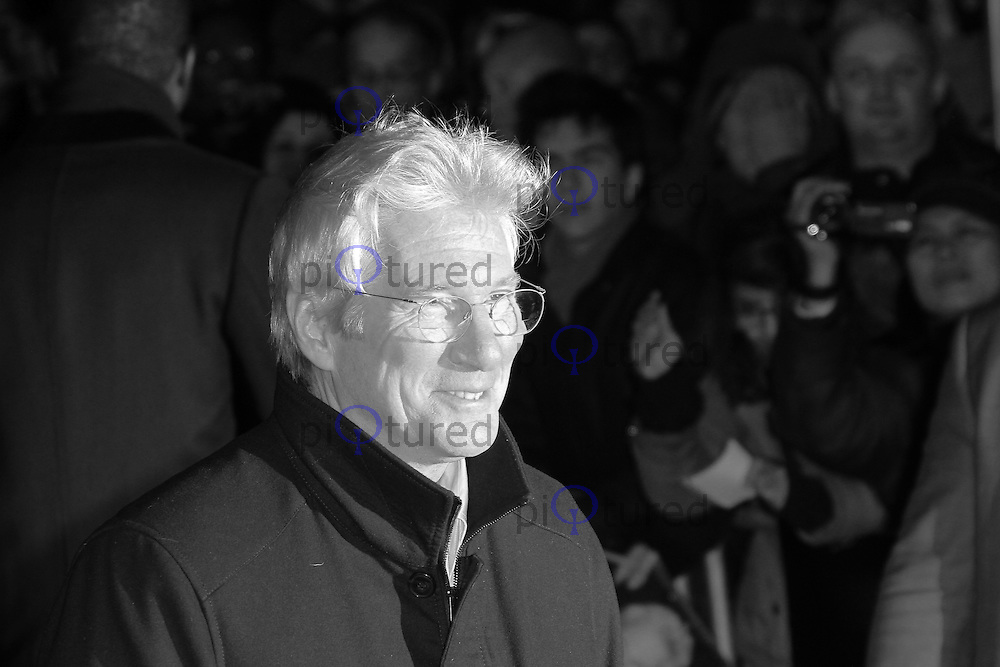 Richard Gere, Arbitrage UK Film Premiere, Odeon West End cinema Leicester Square London UK, 20 February 2013, (Photo by Richard Goldschmidt)
