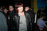 JANET STRET-PORTER,  Prada Congo Art Party hosted by Miuccia Pada and Larry Gagosian. The Double Club,  Torrens St. London EC1. The Double Club is A Carsten Holler project by Fondazione Prada. 10 February 2009.