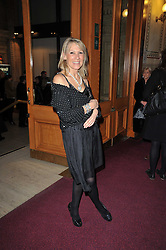 INGRID TARRANT at the opening night of Totem by Cirque du Soleil held at The Royal Albert Hall, London on 5th January 2011.