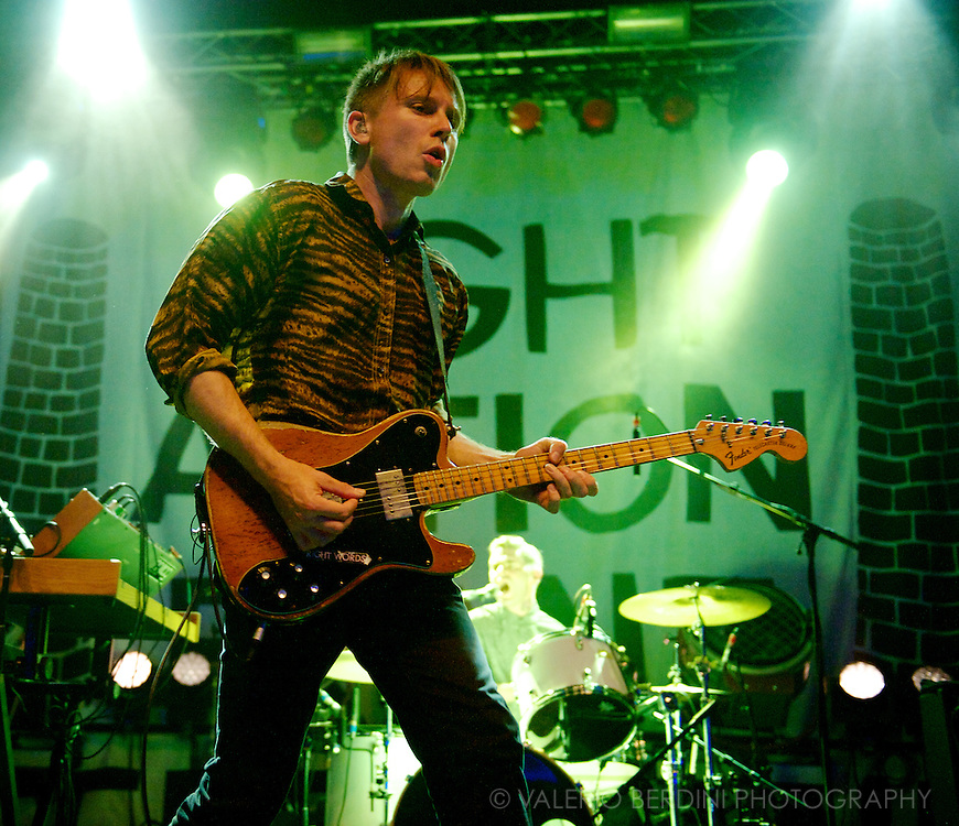 Franz Ferdinand live at the Electric Brixton in London on 20th of August 2013.<br /> <br /> This photos was published on the Daily Telegraph on 21 Aug 2013 http://www.telegraph.co.uk/culture/music/rockandpopreviews/10256829/Franz-Ferdinand-Electric-Brixton-review.html