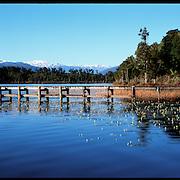 The Dock. West Coast of New Zealand's South Island