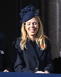 Carrie Symonds attending the National Service of Remembrance at the Cenotaph, Whitehall, London. Photo credit should read: Doug Peters/EMPICS