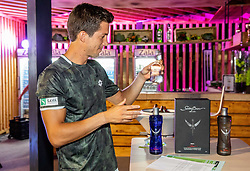 Aljaz Bedene in VIP during ATP Challenger Zavarovalnica Sava Slovenia Open 2019, day 6, on August 14, 2019 in Sports centre, Portoroz/Portorose, Slovenia. Photo by Vid Ponikvar / Sportida