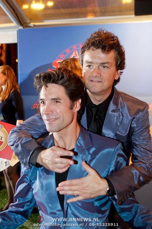 NLD/Amsterdam/20111010 - Premiere All Stars 2, Kasper van Kooten en Daniel Boissevain