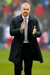 Burnley Manager Sean Dyche - Photo mandatory by-line: Matt McNulty/JMP - Mobile: 07966 386802 - 08/02/2015 - SPORT - Football - Burnley - Turf Moor - Burnley v West Brom - Barclays Premier League