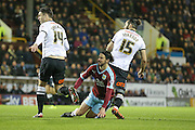 Burnley midfielder George Boyd  during the Sky Bet Championship match between Burnley and Derby County at Turf Moor, Burnley, England on 25 January 2016. Photo by Simon Davies.
