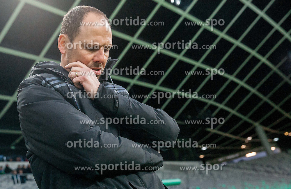 Ante Simundza, head coach of Maribor prior to the football match between NK Olimpija Ljubljana and NK Maribor in Round #26 of Prva liga Telekom Slovenije 2014/15, on April 8, 2015 in SRC Stozice, Ljubljana, Slovenia. Photo by Vid Ponikvar / Sportida