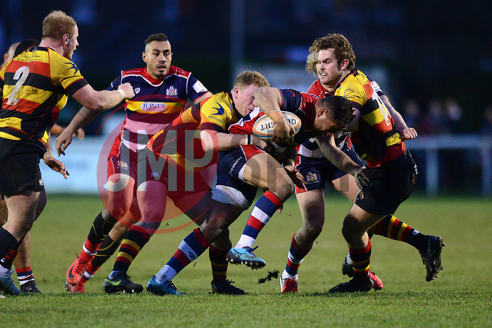 Siale Piutau of Bristol Rugby - Mandatory by-line: Dougie Allward/JMP - 30/12/2017 - RUGBY - The Athletic Ground - Richmond, England - Richmond v Bristol Rugby - Greene King IPA Championship