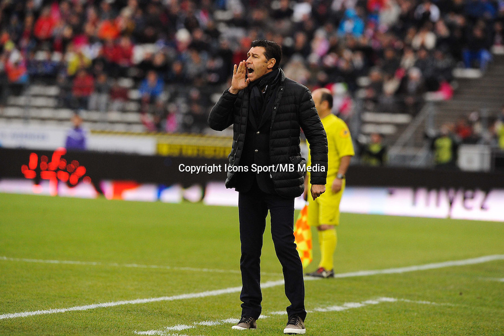 Hubert FOURNIER  - 07.12.2014 - Evian Thonon / Lyon - 17eme journee de Ligue 1 -<br />Photo : Jean Paul Thomas / Icon Sport