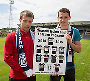 Paul McGowan and Paul McGinn - Dundee new boys<br /> <br />  - &copy; David Young - www.davidyoungphoto.co.uk - email: davidyoungphoto@gmail.com