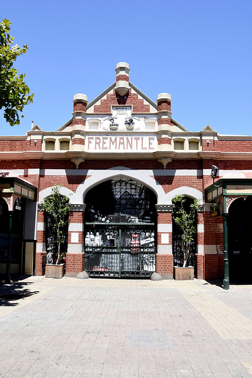 Entrance to the Weekend Markets at Freemantle