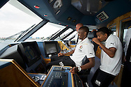 ROTTERDAM-26 september 2011-Feyenoord meets the Port. Sekou Cissé (L) en Jerson Cabral. foto: Gerrit de Heus