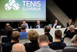 during General Assembly of Slovenian Tennis Federation, on December 12, 2018 in Kristalna palaca, Ljubljana, Slovenia. Photo by Vid Ponikvar / Sportida