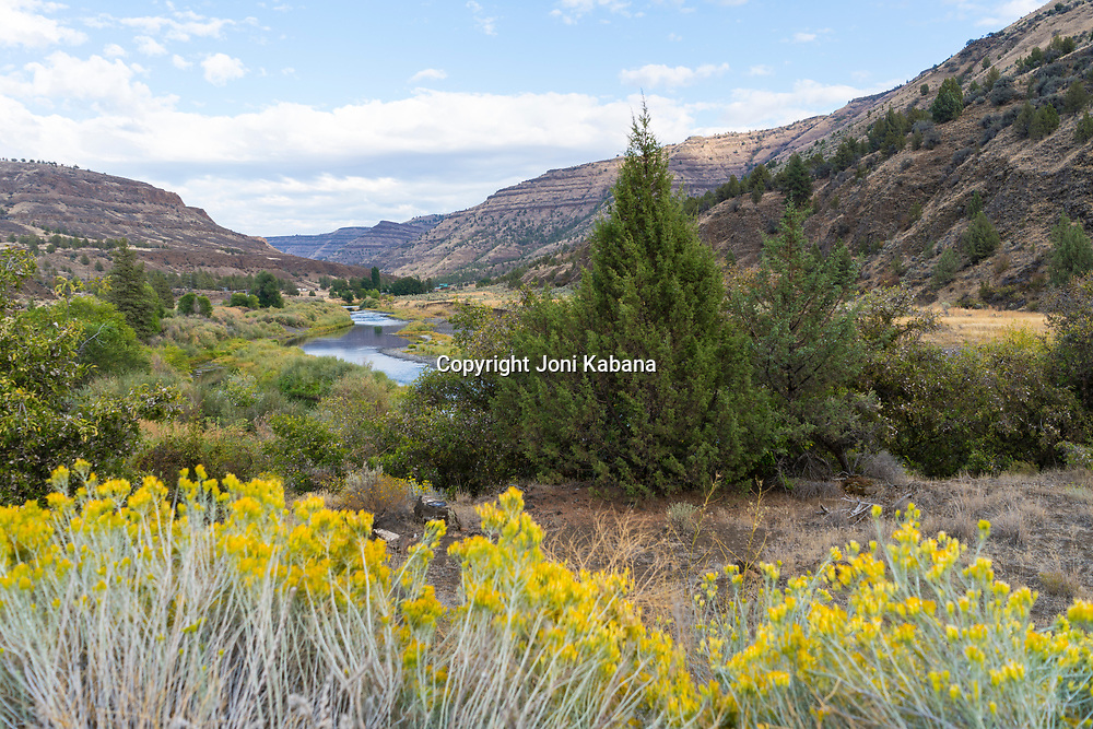 John Day River near Spray, Oregon