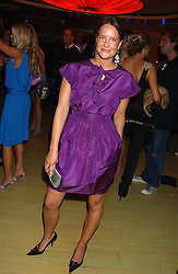 ARABELLA MUSGRAVE at a fashion show by ISSA held at Cocoon, 65 Regent Street, London on 21st September 2005.<br /><br />NON EXCLUSIVE - WORLD RIGHTS