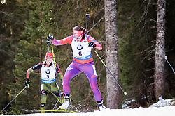 Susan Dunklee (USA) competes during Women 10 km Pursuit at day 3 of IBU Biathlon World Cup 2015/16 Pokljuka, on December 19, 2015 in Rudno polje, Pokljuka, Slovenia. Photo by Ziga Zupan / Sportida
