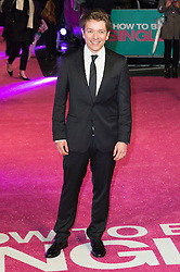 © Licensed to London News Pictures. 09/02/2016. London, UK. Director CHRISTIAN DITTER attends the UK film premiere of 'How To Be Single'.  The film is about a woman writing a book about bacherlorettes who becomes embroiled in an international affair while researching abroad<br /> Photo credit: Ray Tang/LNP