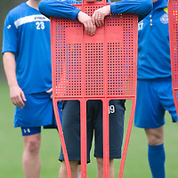 St Johnstone Training...<br /> Alan Maybury training ahead of tomorrow's game against Inverness<br /> see story by Gordon Bannerman Tel: 07729 865788<br /> Picture by Graeme Hart.<br /> Copyright Perthshire Picture Agency<br /> Tel: 01738 623350  Mobile: 07990 594431