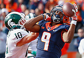 NCAA Football - Illinois Fighting Illini vs Michigan State Spartans - Champaign, Il