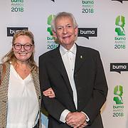 NLD/Amsterdam/20180305 - Uitreiking Buma Awards 2018, Arnold Muhren en partner