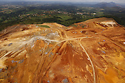 Igarape_MG, Brasil.<br /> <br /> Fotos aereas da expansao da unidade de mineracao Serra azul, localizada nos municípios mineiros de  Igarape, Brumadinho e Sao Joaquim de Bicas.<br /> <br /> Aerial view of the expansion of the unit mining Serra Azul, located between Igarape, Brumadinho and Sao Joaquim das Bicas.<br /> <br /> Foto: MARCUS DESIMONI / NITRO