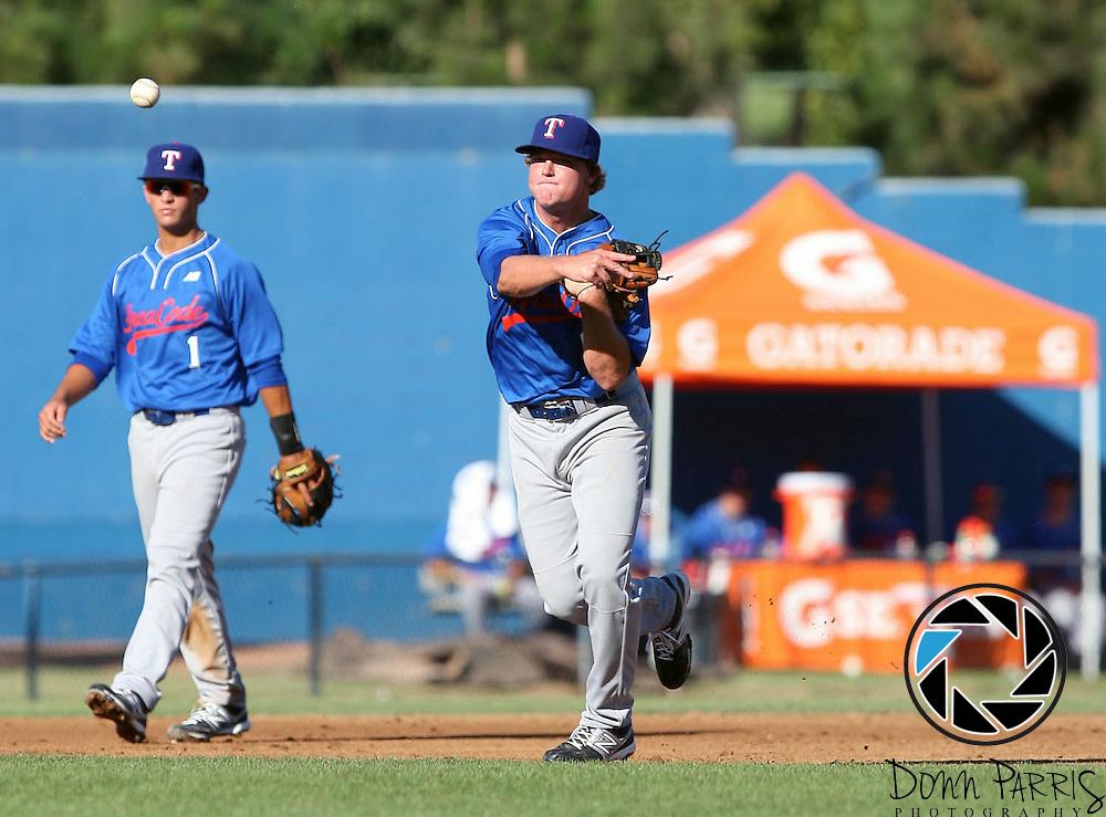 2012 Area Code Baseball, Blair Field, Aug 5 2012, Long Beach CA (Donn Parris)