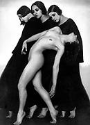 Rudolf Koppitz, 1884 - 1936 Czech photographer.  Motion Study 1926