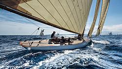 Saint Tropez 2.10.2014 Gstaad Yacht Club Centenary Trophy, 2014 Winner is Olympia helmed by Bruno Trouble