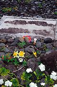 Charles Lindberg grave, hana, Maui, hawaii<br />