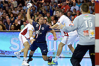 Daniel Narcisse - 12.04.2015 - Paris Handball / Vezprem - Champions League<br />Photo :  Andre Ferreira  / Icon Sport