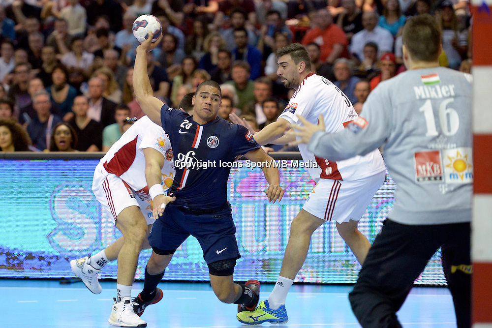Daniel Narcisse - 12.04.2015 - Paris Handball / Vezprem - Champions League<br />