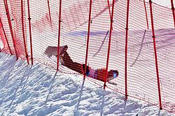 , Banked Slalom at the WPSB_2019 Para Snowboard World Cup, La Molina, Spain