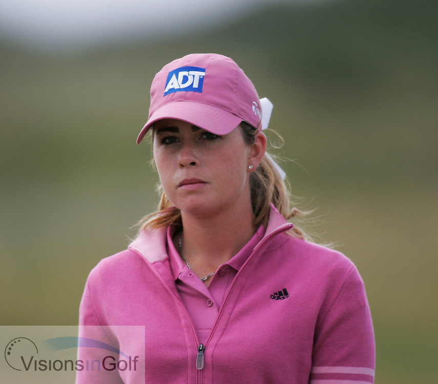 Paula Creamer<br /> 050731, Royal Birkdale GC , Weetabix Womens British Open 2005. Mandatory picture credit:  <br /> Mark Newcombe / visionsingolf.com