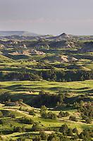 Badlands view, Theodore Rossevelt National Park, North Dakota