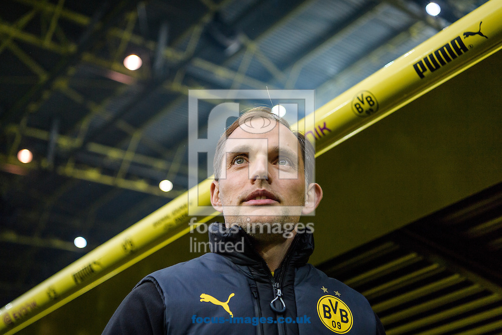 Thomas Tuchel, head coach of Borussia Dortmund during the Bundesliga match at Signal Iduna Park, Dortmund<br /> Picture by EXPA Pictures/Focus Images Ltd 07814482222<br /> 29/10/2016<br /> *** UK &amp; IRELAND ONLY ***<br /> EXPA-EIB-161030-0016.jpg