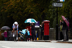 Hayley Simmonds (GBR) at UCI Road World Championships 2019 Elite Women's TT a 30.3 km individual time trial from Ripon to Harrogate, United Kingdom on September 24, 2019. Photo by Sean Robinson/velofocus.com