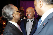 January 30, 2017-New York, New York-United States: (L-R) Rev. Al Sharpton, Founder & President National Action Network, Media Mogul Russell Simmons (Honoree) and Civil Rights Icon Jesse Jackson attend the National Cares Mentoring Movement 'For the Love of Our Children Gala' held at Cipriani 42nd Street on January 30, 2017 in New York City. The National CARES Mentoring Movement seeks to dispel that notion by providing young people with role models who will play an active role in helping to shape their development.(Terrence Jennings/terrencejennings.com)