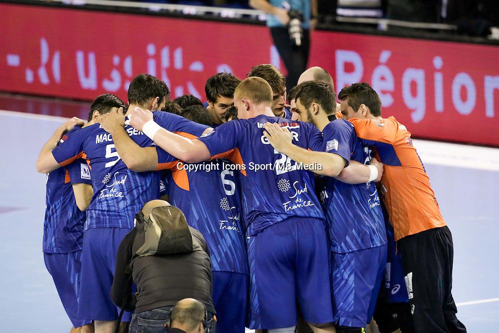Joie Montpellier - 05.03.2015 - Montpellier / Cesson Rennes - 17eme journee de Division 1<br />Photo : Andre Delon / Icon Sport